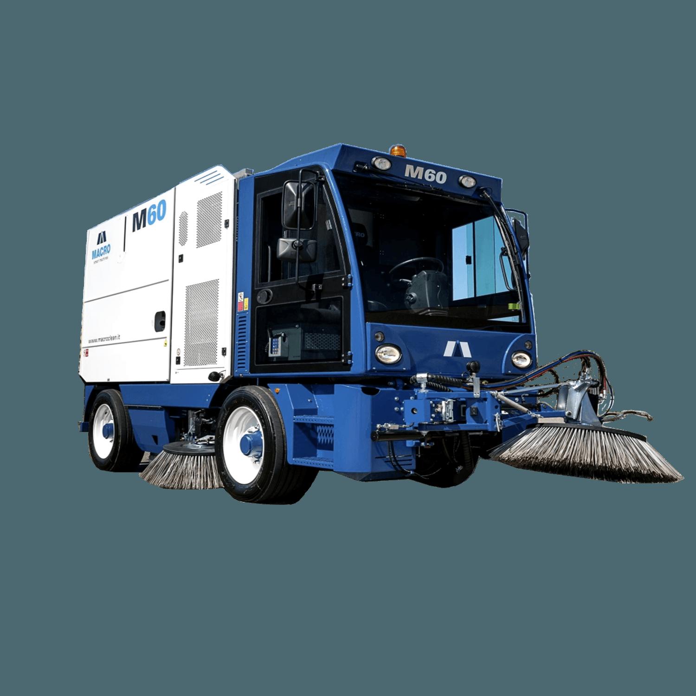 Вакуумно-механическая уборочная машина М60