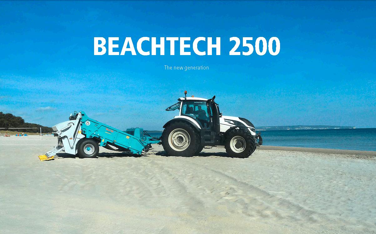 Прицепная пляжеуборочная машина BeachTech 2500