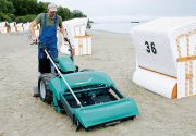 {:ru}Ручная пляжеуборочная машина BeachTech Sweepy{:}{:en}Manual beach cleaning machine BeachTech Sweepy{:}