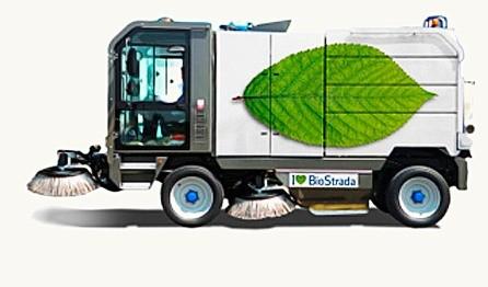 All-season self-propelled vacuum-mechanical sweeper machine BioStrada TEC5.2