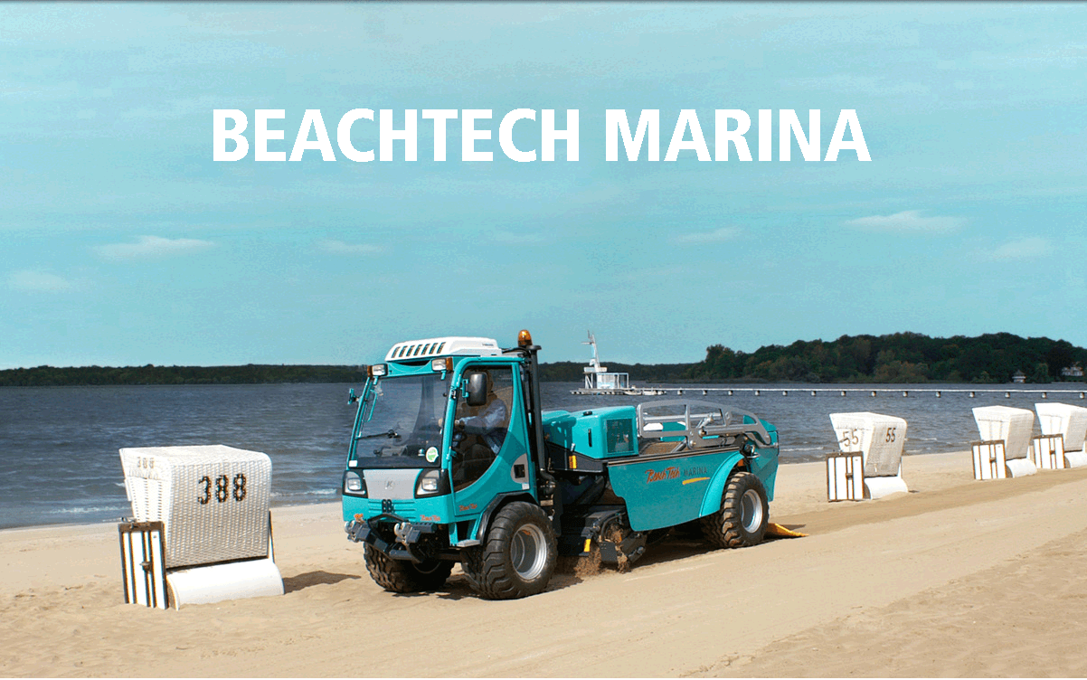 Пляжеуборочная машина BeachTech Marina