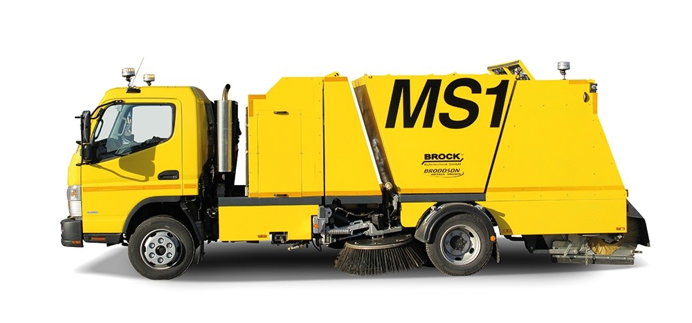 Trailed sweeper machine Broddson MS1