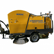 {:ru}Подметально-уборочная машина Broddson Nordic{:}{:en}Trailed sweeper machine Broddson Nordic{:}