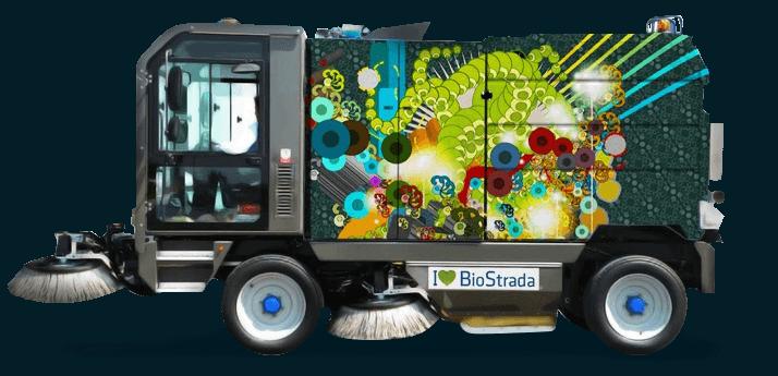 подметально-уборочная машина biostrada 5.2