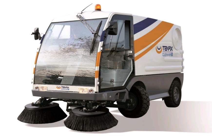 Vacuum sweeper machine Tenax Cleanair 3.0