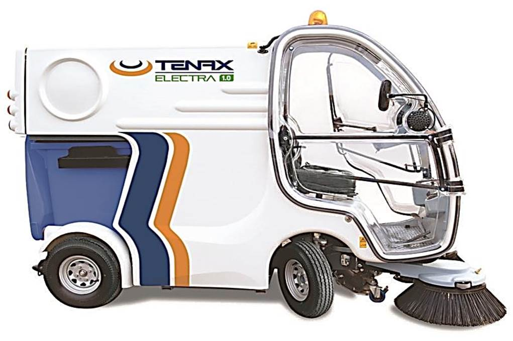 Vacuum sweeper machine Tenax Electra 1.0 Neo