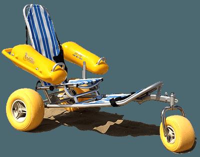 Плавучее пляжное кресло для людей с ограниченными возможностями WaterWheels