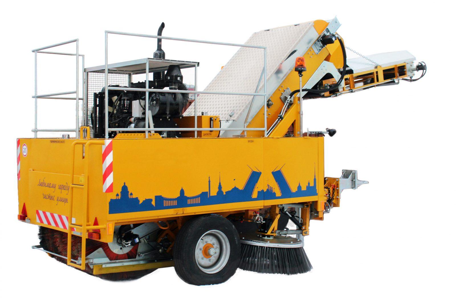 Trailed sweeper machine BRODDWAY