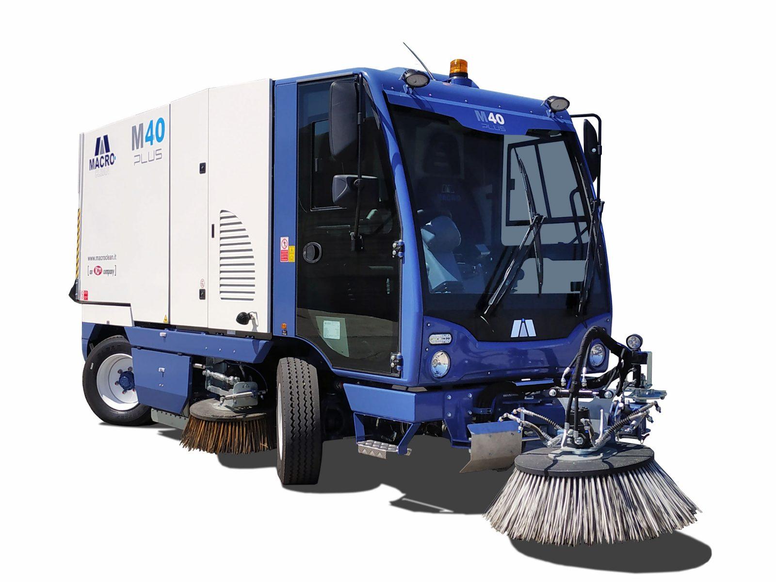 Вакуумно-механическая уборочная машина Macro М40
