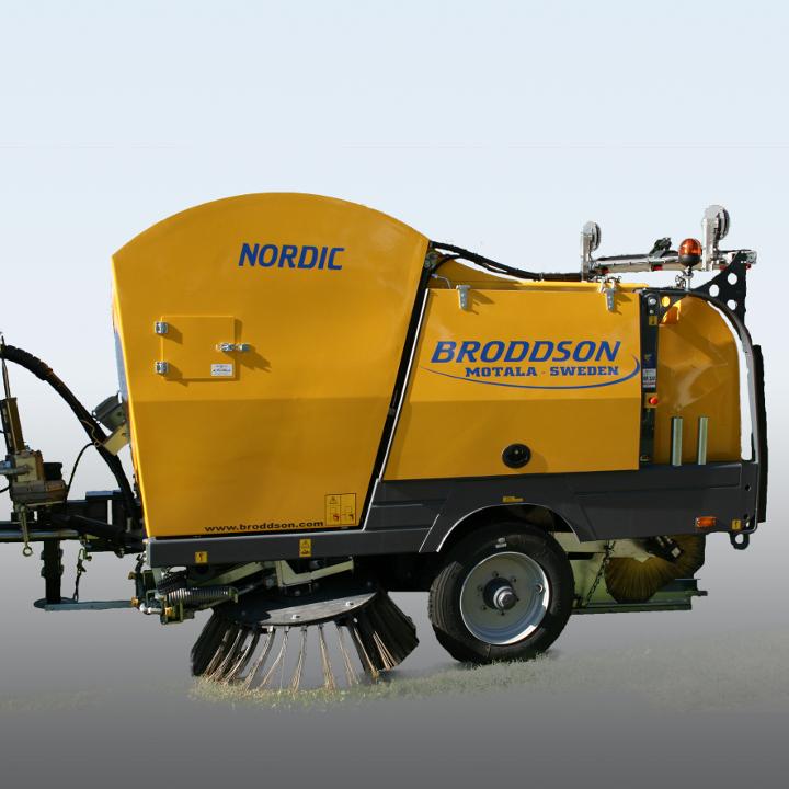 Подметально-уборочная машина Broddson Nordic