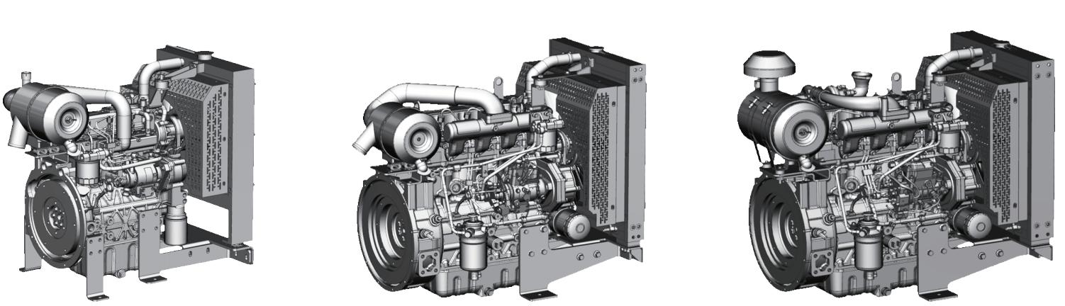 дизельные двигатели Raywin для генераторных установок