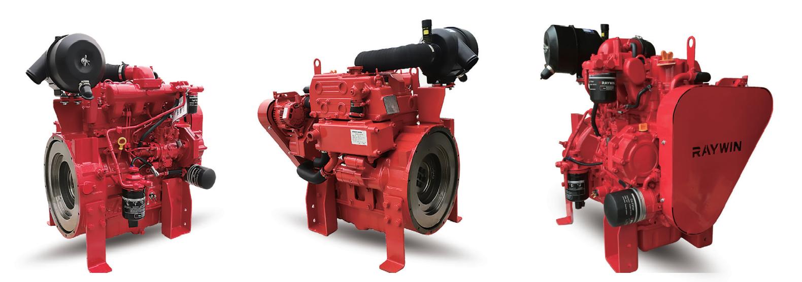 дизельные двигатели Raywin для систем пожаротушения